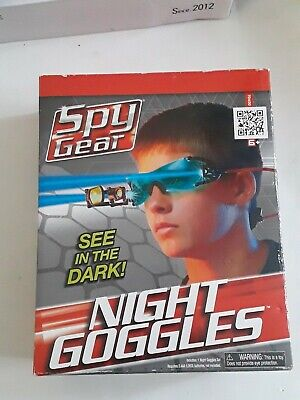 Spy Gear Night Goggles Adjustable Head Strap 2 LED Lights See In The Dark Age 6+ • 26.06£