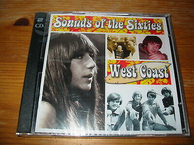 Time Life Sounds Of The Sixties West Coast 2CD Set Of 60s Pop Hits  • 45£