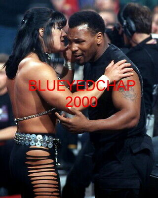 $ CDN12.67 • Buy Chyna  & Mike Tyson Girl Wrestler 8 X 10 Wrestling Photo  Wwf