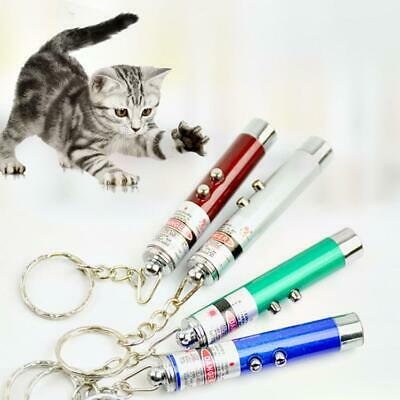 Laser Teaser Pen Cat Kitten Puppy Fun Exercise Play Toy Projecting Flash Pointer • 2.39£