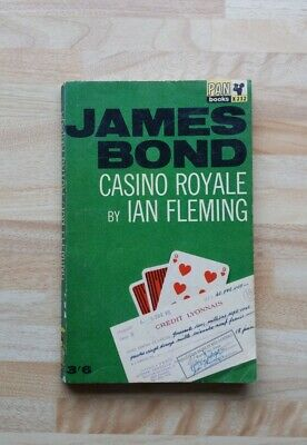 JAMES BOND CASINO ROYALE BY IAN FLEMING PAN BOOKS 13th PRINT 1963 • 10£