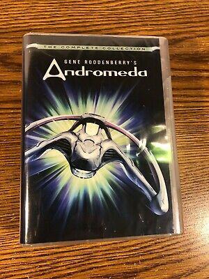Andromeda Complete Collection DVD 24-Disk TV Series Sci-Fi Gene Roddenberry NEW • 36.17£