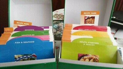 796 Recipe Cards In Boxes From 1001 Recipes For Pan Or Wok • 15£