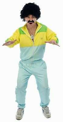 Shell Suit Costume -  Fancy Dress 80s Scouser Stag Funny Halloween Party Costume • 9.99£