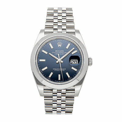 $ CDN12630.87 • Buy Rolex Datejust 41 Auto Steel Mens Jubilee Bracelet Watch 126300