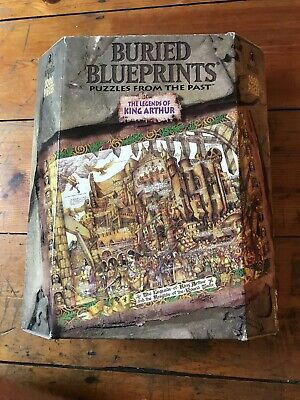 Buried Blueprints Jigsaw Puzzle The Legends Of King Arthur 1000 Pc Complete Vgc • 8.99£