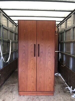 Mid Century G Plan Fresco Teak Single Wardrobe. Lovely Condition Ref:0392 • 215£