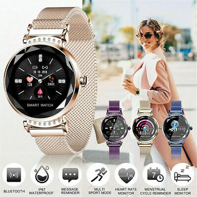 View Details Waterproof Fitness Smart Watches Gold Women Lady Heart Rate Tracker IOS Android • 31.49£