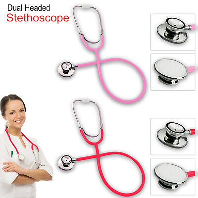 Pro Medical EMT Dual Head Stethoscope For Doctor Nurse Vet Student Health Care • 4.25£
