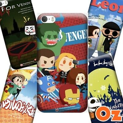 AU11 • Buy Cute Movie Poster Case For Sony Xperia XZ2 Premium, Painted Back Cover