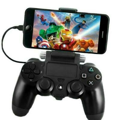 £6.68 • Buy PS4 Controller Smartphone Clip Holder Phone Mobile Game Pad Mount Android IPhone
