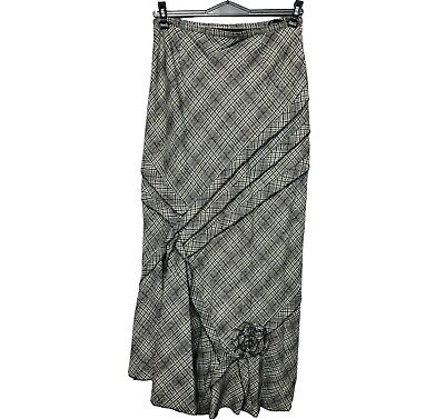 Womens Thick Winter Maxi Warm Tweed Lined Maxi Long Skirt Gypsy Size 8 10 12 14 • 15.99£