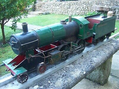 £1395 • Buy Live Steam 3 1/2 Inch 3.5  Gauge 4-4-0 Locomotive Engine With Tender Early Loco