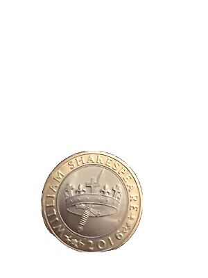 Rare 2pound, Coins Uk, Shakespeare Coin  2016.collectors Item. • 1,500£