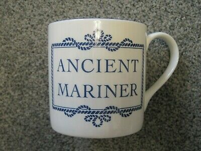 'Ancient Mariner' Bone China Tea Coffee Mug By Nauticalia, London • 1.50£