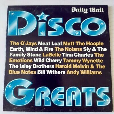 Disco Greats — Daily Mail Promo CD (15 Tracks, See Photo 2) • 0.50£