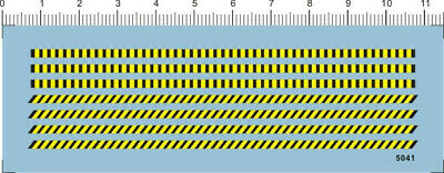 £4.69 • Buy Water Slide Decals Warning Strips (5041A) For Model Kits