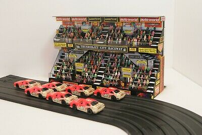 $ CDN394.55 • Buy HO SLOT CAR AMAZING DOUBLE DECKER GRANDSTAND Has 300 PEOPLE,CONCESSIONS & MORE