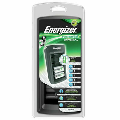 Energizer Universal Rechargable Ni-MH AA AAA C D 9V Mains Battery Charger NEW  • 19.99£