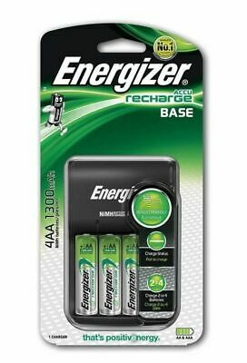 £14.99 • Buy ENERGIZER BATTERY CHARGER +Rechargeable✅ Batteries AA AAA C D 9V  Pre-Charged