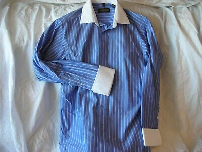 Donald Trump Signature Collection Non Iron French Cuff Dress Shirt • 19.99£