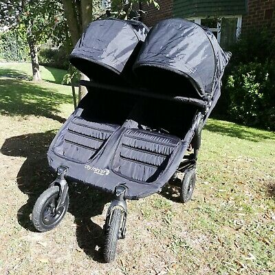 Baby Jogger City Mini GT Black - Double-Immaculate Condition With Accessories  • 370£