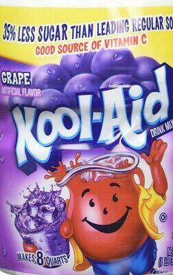 Kool Aid Grape Artificially Flavoured Drink Mix 538g 19oz • 9.49£