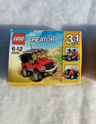 Lego Creator Small Jeep Model 3 In 1 Set 31040 Age 6-12 Opened But Immaculate  • 5.50£
