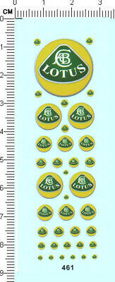 £4.59 • Buy Water Slide Decals Different Scales LOTUS (461) For Model Kits