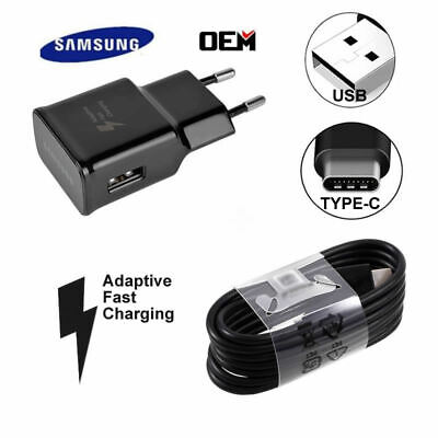$ CDN6.47 • Buy Original Samsung Galaxy S8 S9 S10+ Note9 10 OEM Adaptive Fast Rapid Wall Charger