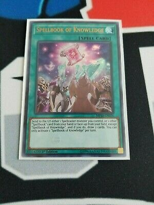 AU5.15 • Buy Spellbook Of Knowledge - MP18-EN076 - Ultra Rare 1st M/NM Yugioh