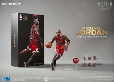 $249.99 • Buy [PRE-ORDER] NBA Motion Masterpiece Michael Jordan 1/9 Scale Figure By ENTERBAY