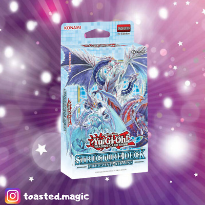 Yu-Gi-Oh! | 1 X Freezing Chains Structure Deck | Sealed | 1st Ed | Ice Barriers • 10.99£