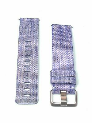 $ CDN21.57 • Buy FB505-LAVENDAR-CLOTH-BAND Fitbit Wrist Band Large Lavender Ionic SmartwatchFB505