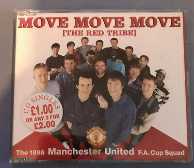 The 1996 Manchester United F.A. Cup Squad – Move Move Move (The Red Tribe) - CD • 3£