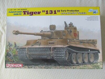 Dragon Models 6820 Pz.Kpfw.VI Tiger '131' Early Production In 1:35 Scale • 54.99£