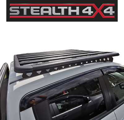 AU449 • Buy Stealth Ford Ranger Roof Rack 2011+ Alloy Low Profile Incl. Brackets
