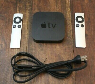 AU79.87 • Buy Apple TV (3rd Gen.) Media Streaming Player A1469 - 2 Remotes - Free Shipping