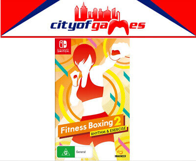 AU69.95 • Buy Fitness Boxing 2 Rhythm & Exercise Nintendo Switch Game Brand New In Stock