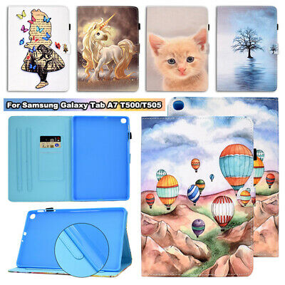 Card Slots Shockproof Cover For Samsung Galaxy Tab A7 T500 T505 2020 Tablet Case • 9.86£