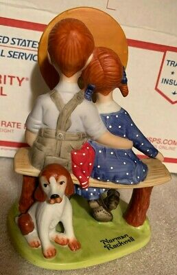 $ CDN26.31 • Buy The 12 Norman Rockwell Porcelain Figurines   Young Love  Danbury Mint