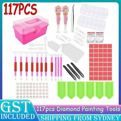 AU28.99 • Buy 5D Diamond Painting Tools Embroidery Accessories DIY Art Kit Cross Stitch Set AU