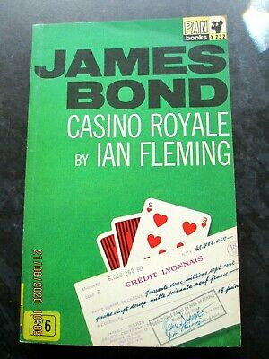 Vintage James Bond CASINO ROYALE PB Book By Ian Fleming 1965 Pan X232 • 4.99£