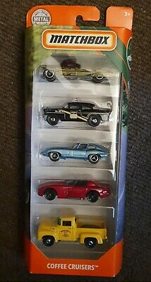 AU20 • Buy  Matchbox 5 Pack Coffee Cruisers Cadillac Dodge Jaguar Ford Mooneyes Viper