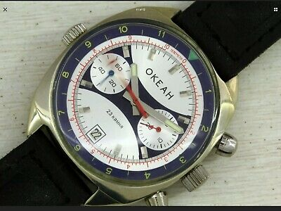 "Poljot Sturmanskie Okeah ""Ocean"" Chronograph Watch. • 220£"