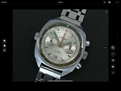 Poljot Sturmanskie Soviet Airforce 3133 Chronograph Vintage Watch. • 175£
