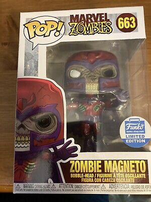 Zombie Magneto Funko Pop Funko Shop Exclusive Marvel - New • 28£