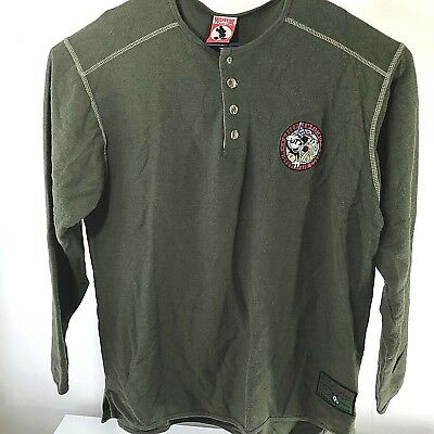 Rare Mickey, Inc. Men's XL Mickey Air Force Victory Combat Leader Sweater XV45 • 13.68£