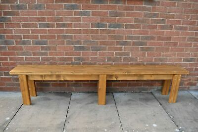 Wooden Quality Handmade Garden-kitchen-Dining-utility Bench Sturdy And Solid  • 115£