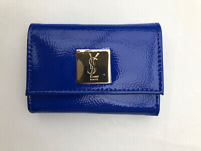 Blue Patent YSL Beaute PURSE With Mirror  • 7.99£